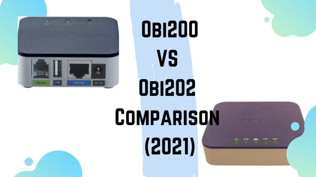 Obi200 VS Obi202